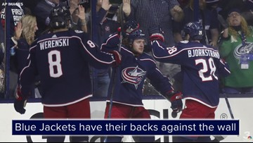 Nick Foligno: 'There's just no quit' in the Blue Jackets