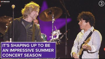 Hall & Oates bringing 2020 tour to Blossom Music Center this summer