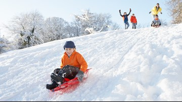 Snow fun: The best sledding hills in Northeast Ohio