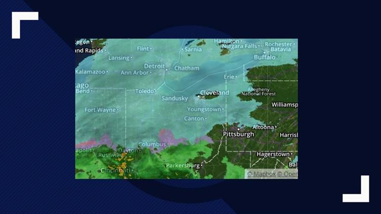 Saturday snow radar January 19, 2019