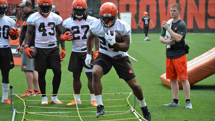Cleveland Browns OTAs: Nick Chubb 2