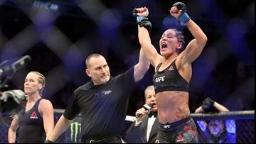 WATCH   Jessica 'Evil' Eye talks title shot after UFC 231 win