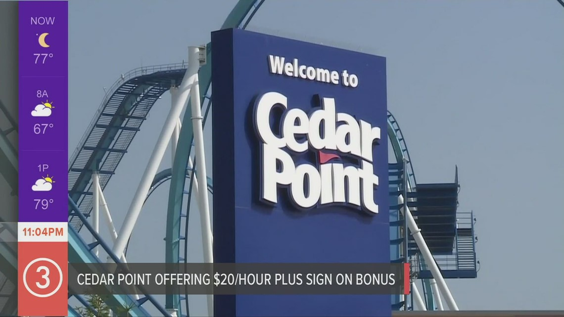 Cedar Point won't open on certain June dates because of lack of workers