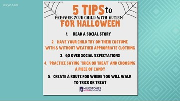 Mother creates strategy to promote inclusion for kids with autism, sensory disorders during Halloween