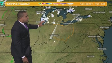 Morning Weather Forecast for Northeast Ohio for Saturday November 9