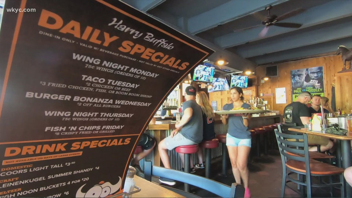 Cleveland businesses overcoming shortages to cash in on big sports weekend
