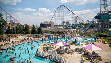 Cedar Point showing 'Jaws' and 'The Meg' at water park's wave pool for dive-in movies this weekend -- and it's free