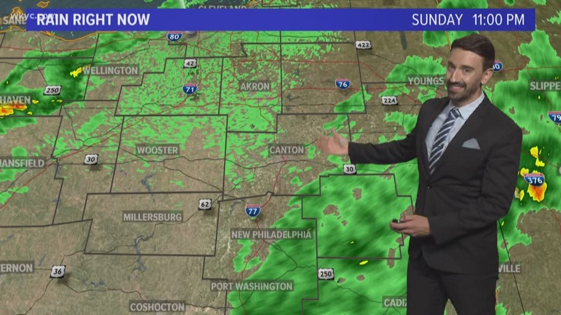 FORECAST | Cool Start, Very Warm Finish This Week
