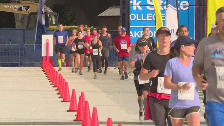 High temps trigger weather alert for Saturday's Akron Marathon