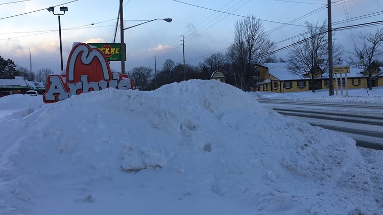 Kent State snow