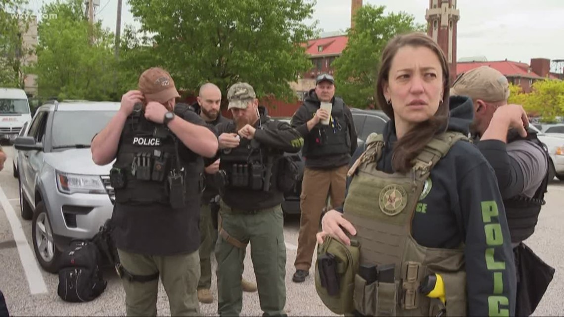 Anne Murphy becomes first woman to lead Northern Ohio Violent Fugitive Task  Force