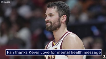 #ThankYouKevin: Fan thanks Cleveland Cavaliers F Kevin Love for mental health message