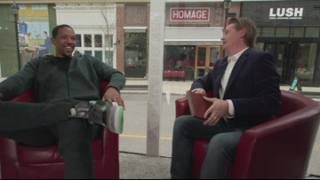 Channing Frye shows us his best Stanley Hudson impression