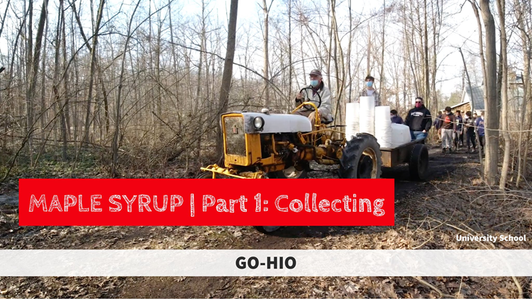 GO-HIO | Making maple syrup in Northeast Ohio (Part 1)