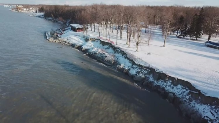 Northeast Ohio communities come together to fight erosion on Lake Erie shore
