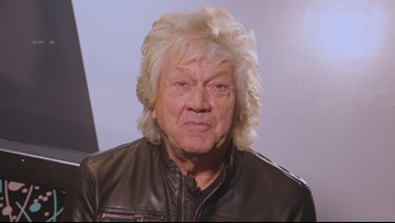 Rock and Roll Hall of Fame inductee John Lodge of the Moody Blues