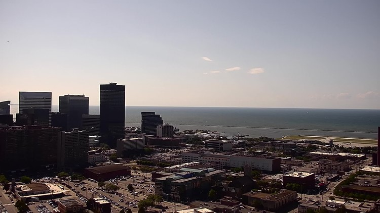 Downtown Cleveland on August 8, 2019