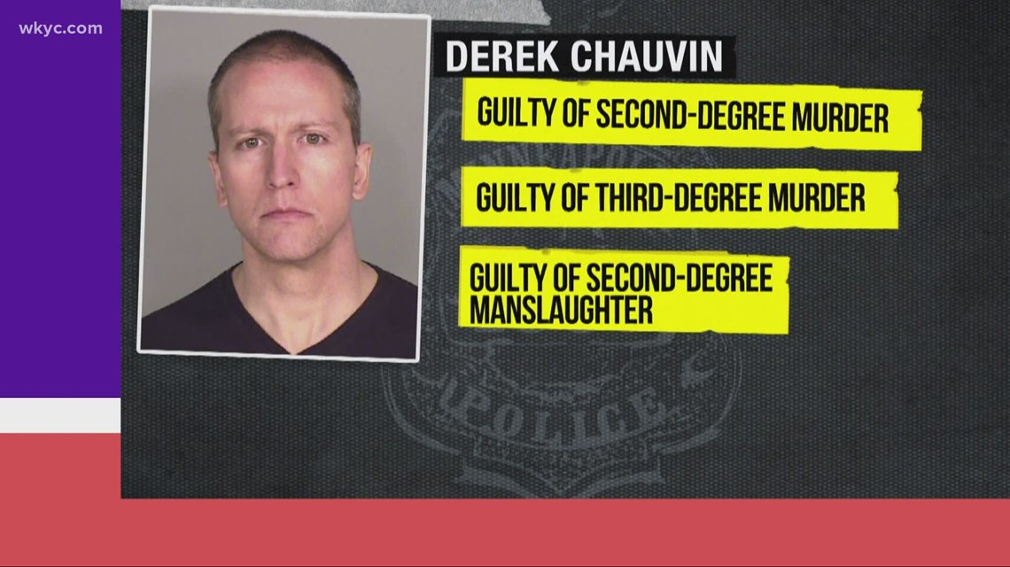 Reaction from Minneapolis to Cleveland after Derek Chauvin found guilty in George Floyd's death