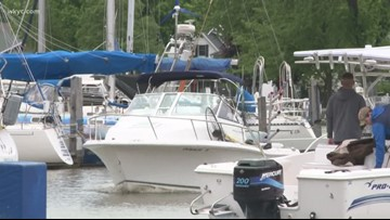 Lake Erie high water levels affecting Vermilion River marinas