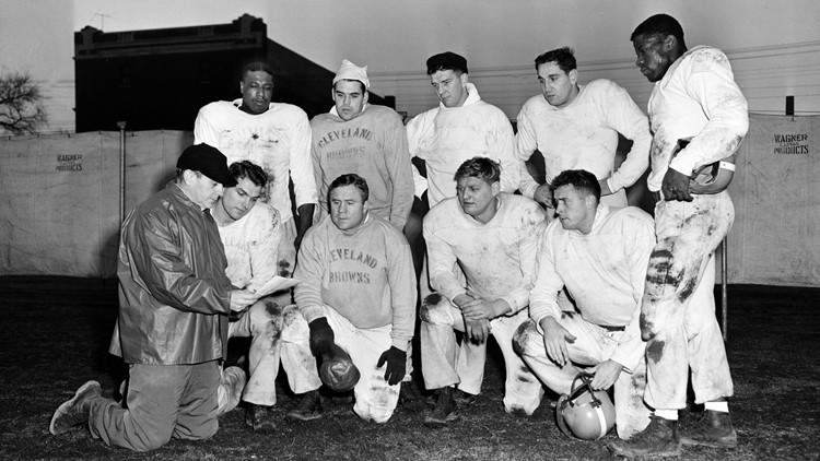 CLEVELAND BROWNS 1952