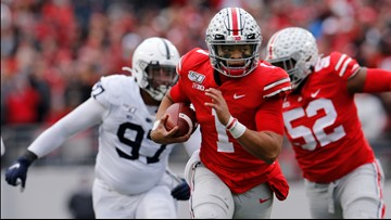 Ohio State's Justin Fields named Big Ten QB, Offensive Player of the Year; 4 Buckeyes named to first teams