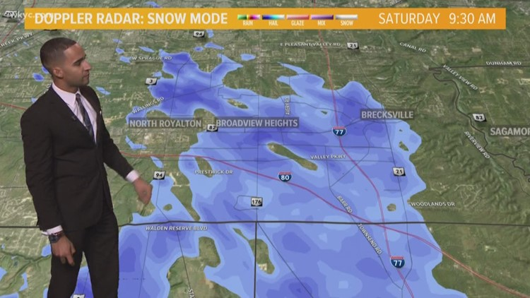 FORECAST | Another Round of SNOW on Sunday!