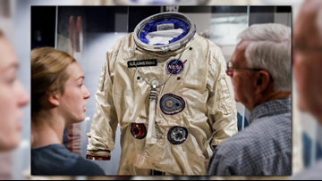 Statues, education center honor Neil Armstrong at museum
