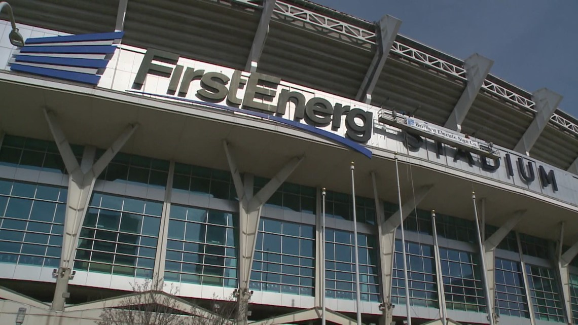 Christmas At Firstenergy Stadium 2021 Firstenergy Stadium Gets Cleaned Up Ahead Of 2021 Nfl Draft Wkyc Com