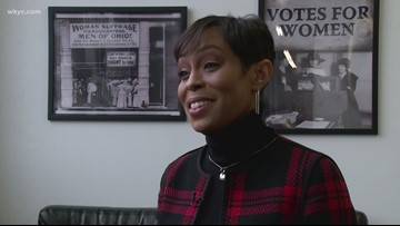 Shontel Brown makes history as first African-American woman to lead Cuyahoga County Democratic party