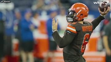 quality design cb2a1 16bf7 Cleveland Browns' Color Rush uniforms will be team's primary ...