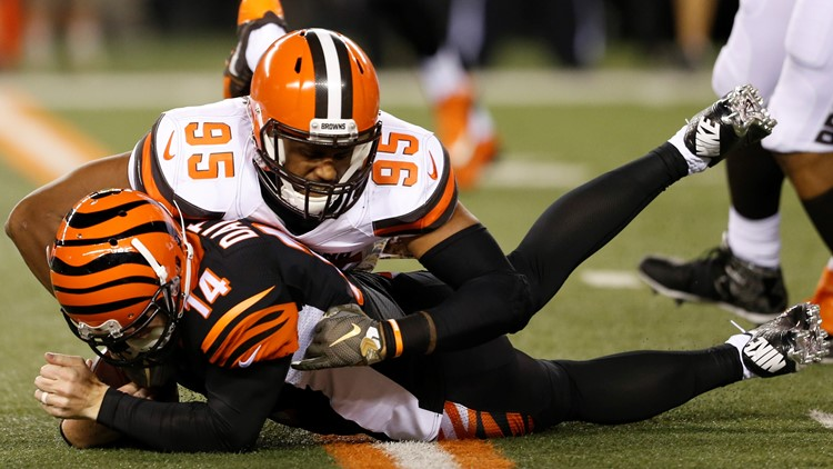 Former Cleveland Browns DE Armonty Bryant 2