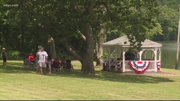 4th of July celebration is going on all weekend at Portage Lakes in Summit County
