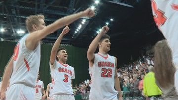 Green & St. Edward boys basketball punch regional final tickets