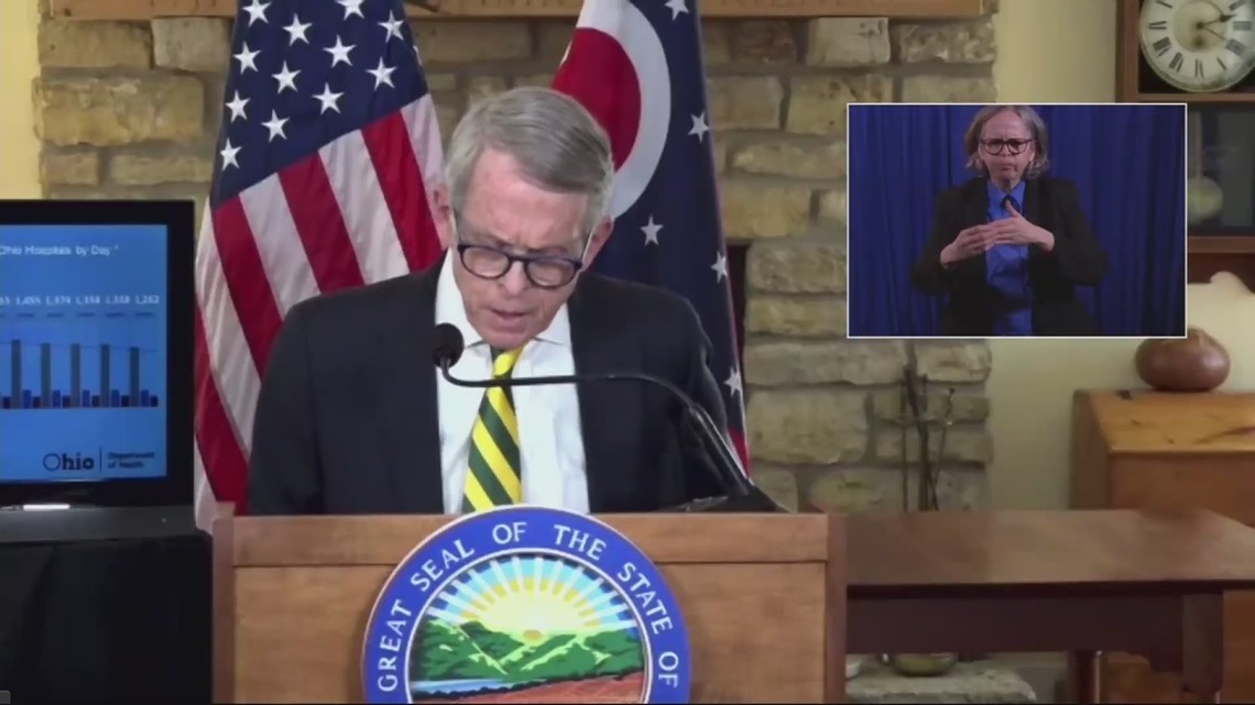 Governor DeWine says we are 'building a bridge' back to the way it was before COVID-19