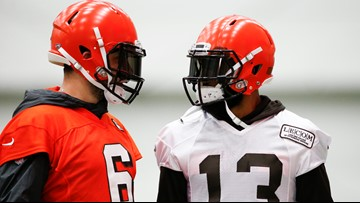 'I feel like it's close.' Cleveland Browns QB Baker Mayfield, WR Odell Beckham Jr. nearly in sync