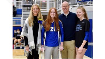 Gilmour Academy teen combines grit with gratitude to battle back after 'devastating' leg injury