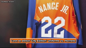 Cleveland Cavaliers to debut 'City Edition' uniforms vs. Charlotte Hornets