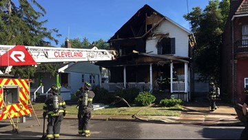 Arson suspected in house explosion on Cleveland's east side; reward offered for info