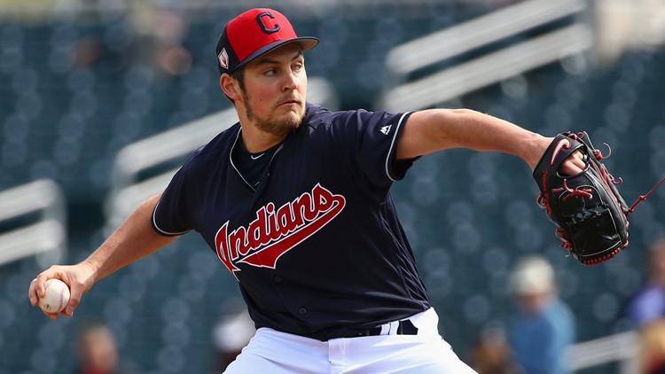 750d234fa WATCH  Cleveland Indians SP Trevor Bauer mic d up for Spring Training start