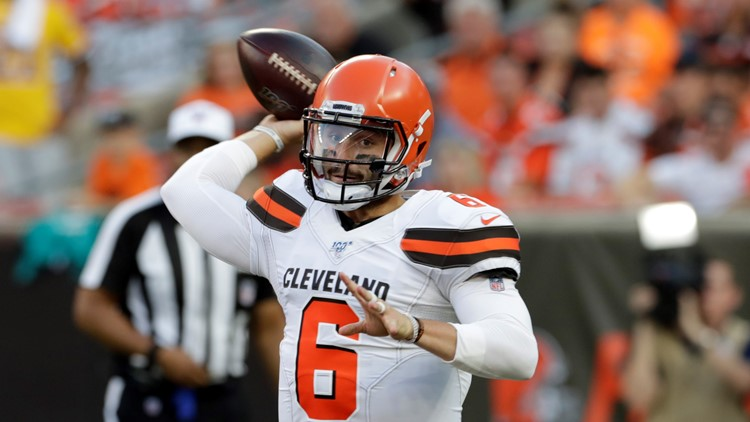 Baker Mayfield Washington-Cleveland Browns Football