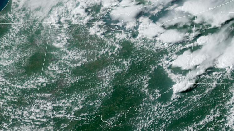 Ohio satellite image on August 15, 2019