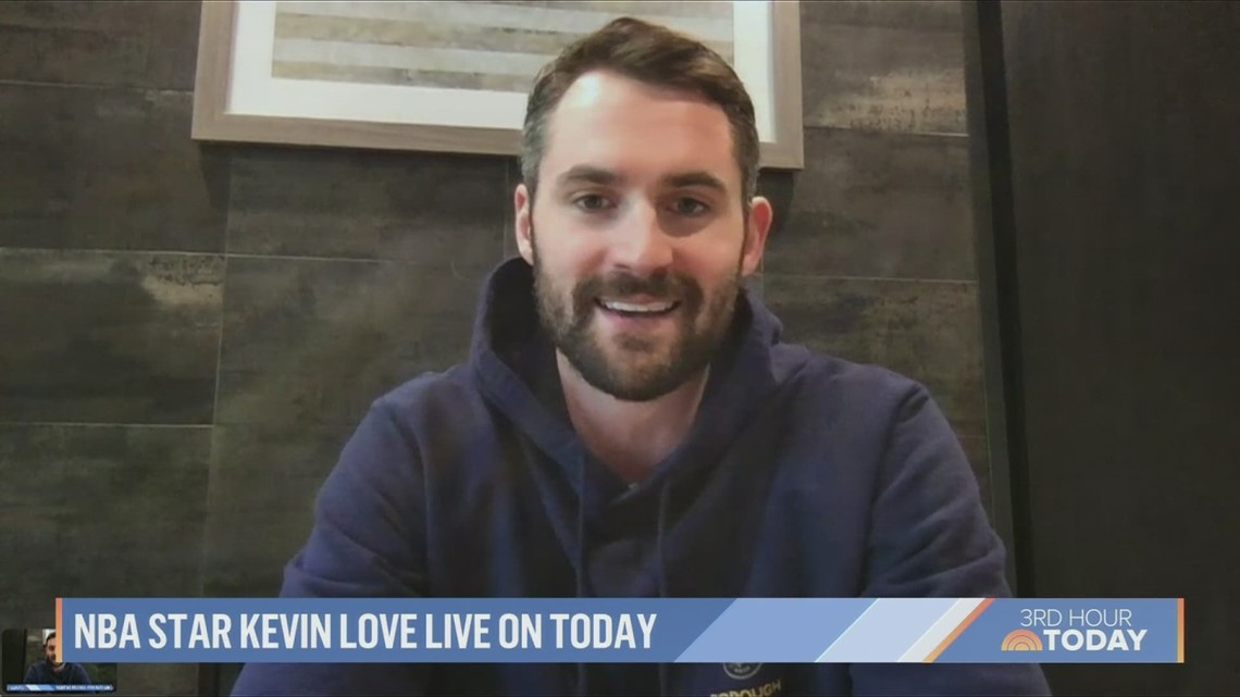 Kevin Love makes special announcement on 'Today'