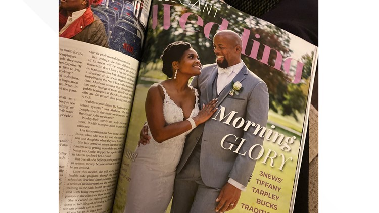Tiffany Tarpley wedding featured in Cleveland Magazine