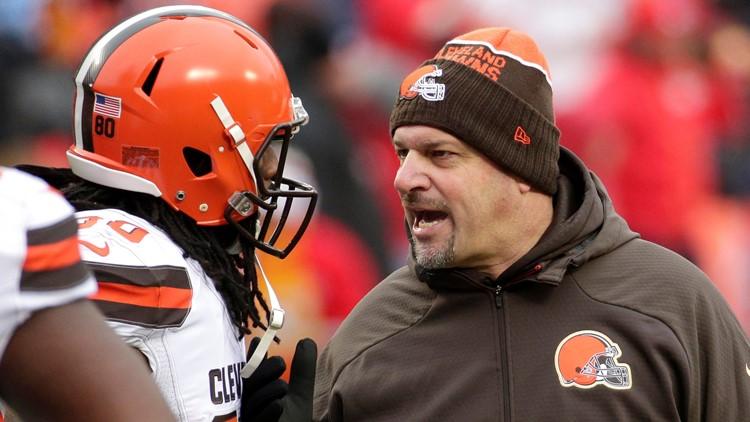 Mike Pettine Cleveland Browns-Kansas City Chiefs Football