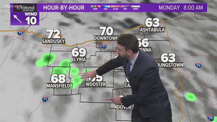 11 p.m. weather forecast for Sept. 19, 2021