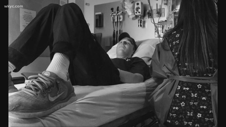 Champion high school wrestler overcomes shocking cancer diagnosis, raises nearly $1 million