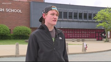 Canton teen lost more than 100 pounds by walking to school everyday