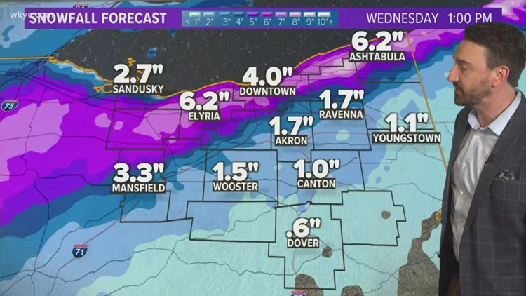 FORECAST   Here we go again: Tracking accumulating snow this week in Northeast Ohio