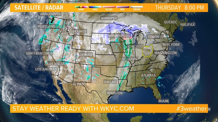 Weather across the nation on April 11, 2019 | wkyc com