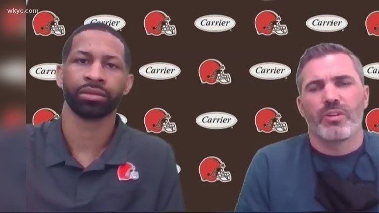 Cleveland Browns head coach Kevin Stefanski gives his thoughts on the 2021 NFL Draft class